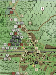 "Recent playtest of St. Léonard, Situation 1, ""Not Such a Bad War After All."""